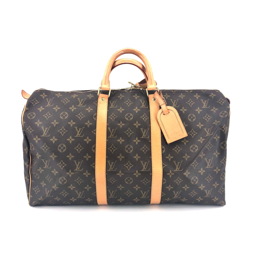 LOUIS VUITTON/Boston Bag/Keepall 50/Monogram/BRW/M41426