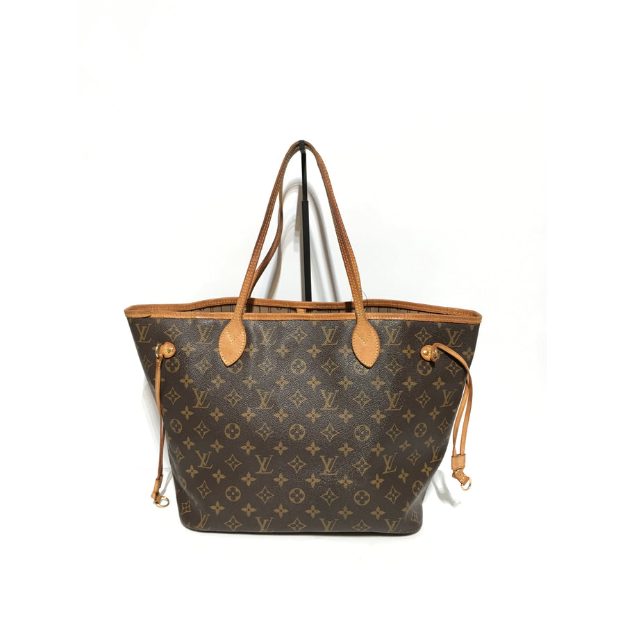 LOUIS VUITTON/Never Full/Hand Bag/BRW/Leather/Monogram