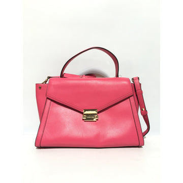 MICHAEL KORS/./Bag/PNK/Leather/Plain