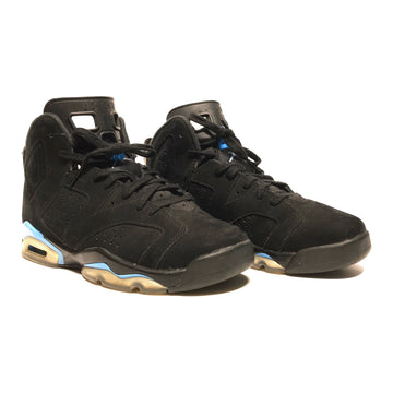 Jordan/6 RETRO/Hi-Sneakers/7/BLK/Faux Leather/Plain