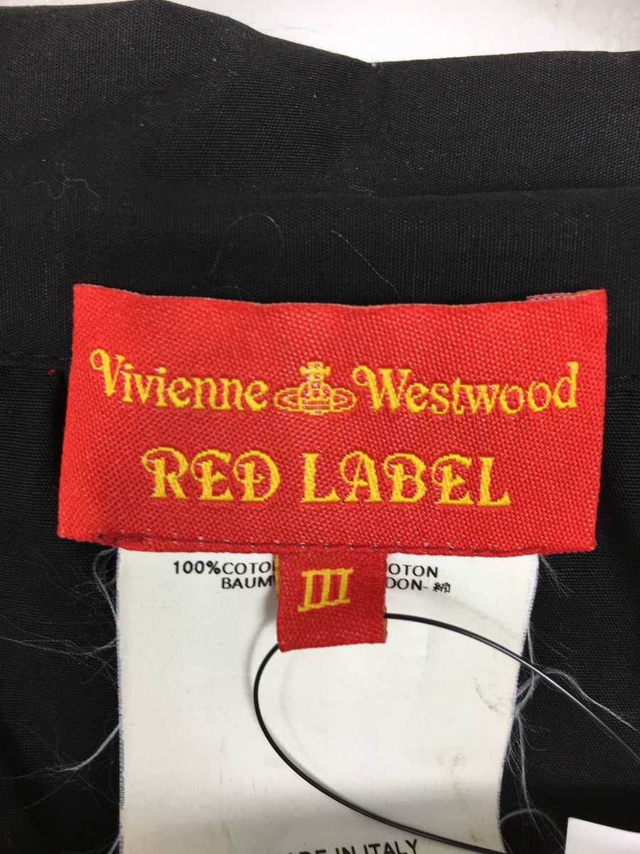 Vivienne Westwood RED LABEL/LS Shirt/3/cotton/BLK
