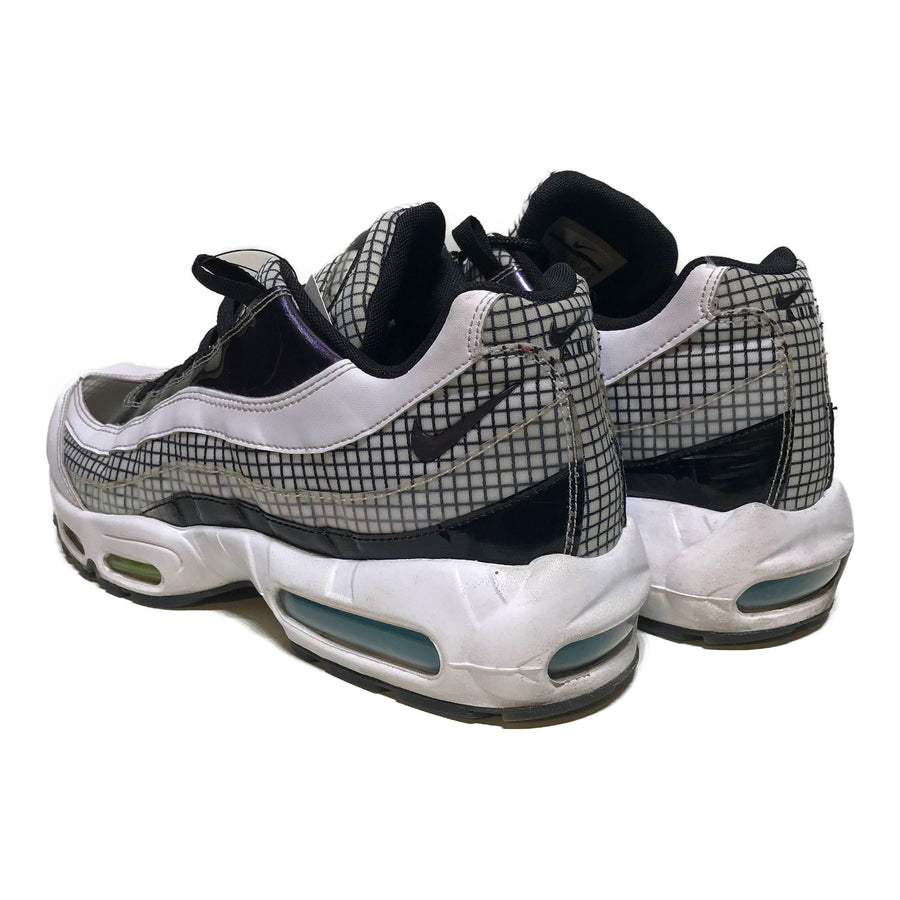NIKE/AIR MAX 95/Low-Sneakers/10.5/WHT/Others/All Over Print