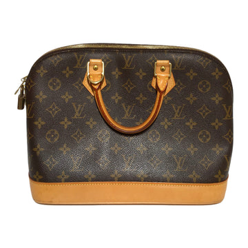 LOUIS VUITTON/ALMA/Hand Bag//BRW/Leather/Monogram