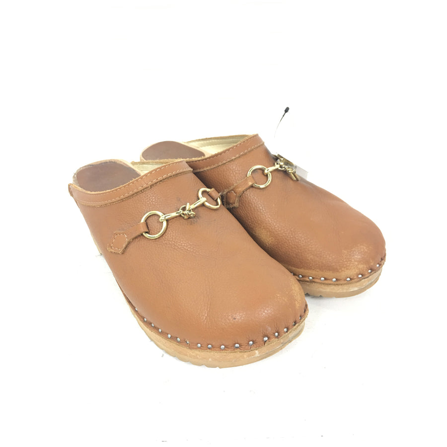 Troentorp/Swedish Clog Plain Toe/Sandals/42/CML