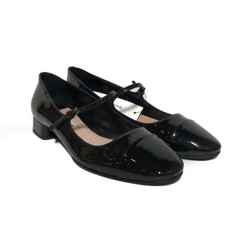 MIU MIU//Shoes/37/BLK/Leather/Plain