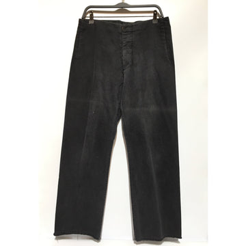 Maison Margiela/50/Pants/BLK/Cotton/Plain
