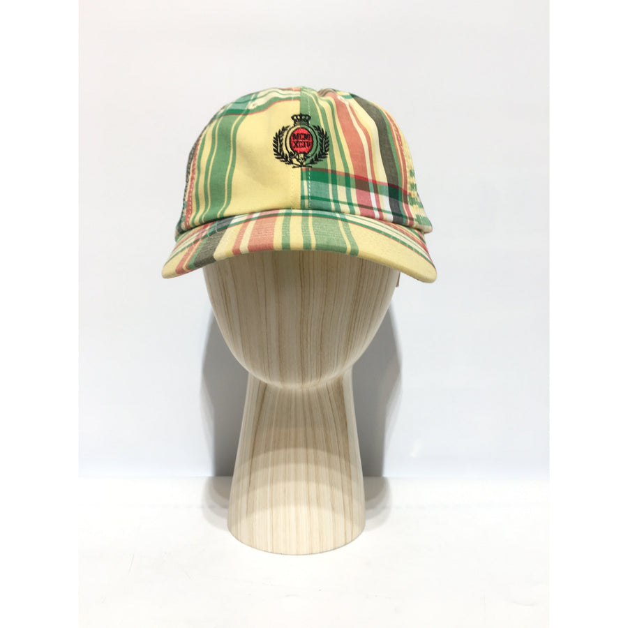 Supreme/Plaid Crest/Cap