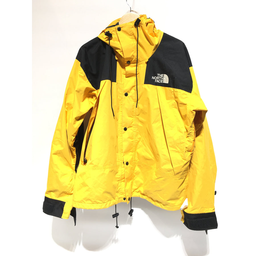 THE NORTH FACE/L/Mountain Parka/YEL/Nylon/Border