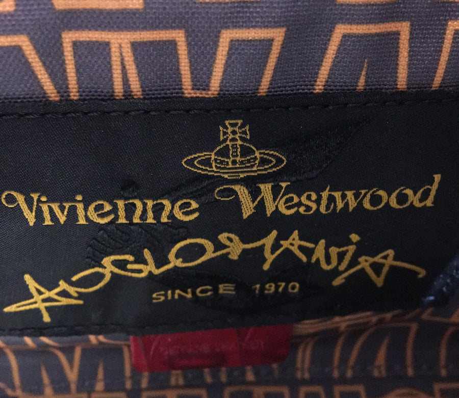 VIVIENNE WESTWOOD/-/Hand Bag/RED/Others/All Over Print