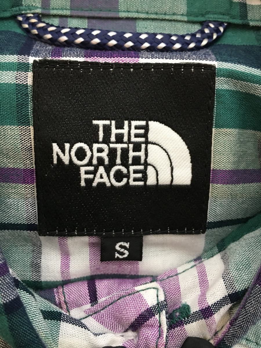 THE NORTH FACE/Short Sleeve/S/GRN/