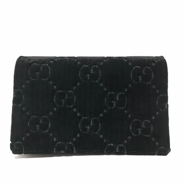 GUCCI/VELVET SUPER MINI DIONYSUS/Cross Body Bag//BLK/Velour/Monogram