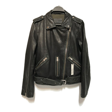 ALLSAINTS//Leather Jkt/S/BLK/Leather/Plain