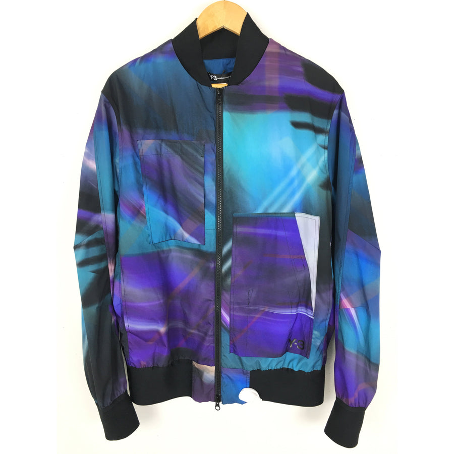 Y-3/M ALL OVER PRINT NYLON JACKET/Blouson/S/PUP