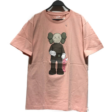 KAWS//T-Shirt/XL/PNK/Cotton/Graphic