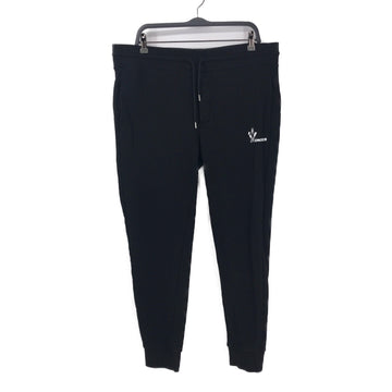 MONCLER//Pants/XXL/BLK/Cotton/Plain