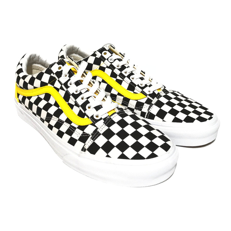 VANS/OLDSKOOL/Low-Sneakers/US11.5/MLT/Cotton/Gingham Check