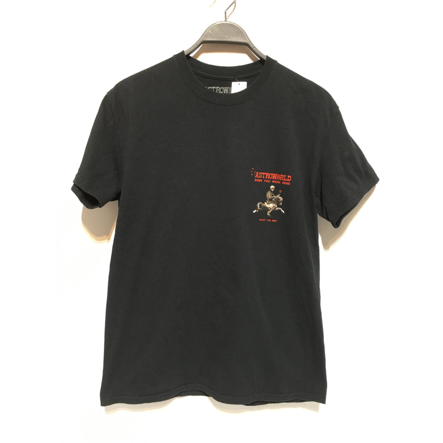 Vintage/Astroworld/M/T-Shirt/BLK/Cotton/Graphic