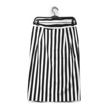 MARC JACOBS//Skirt/0/WHT/Polyester/Stripe