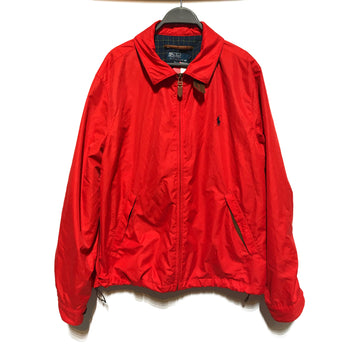 POLO/WINDBREAKER/Windbreaker/./RED/Polyester/Plain