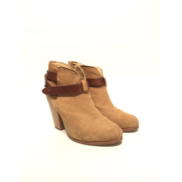 rag&bone/7/Booties/BRW/Cotton/Plain
