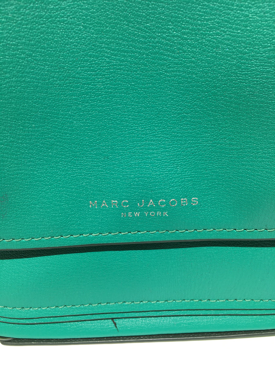 MARC JACOBS//Cross Body Bag/GRN/Leather/Plain