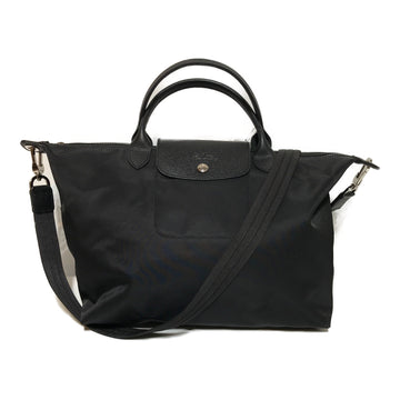 LONGCHAMP/LE PLIAGE NEO/Tote Bag/SMALL/BLK/Nylon/Plain