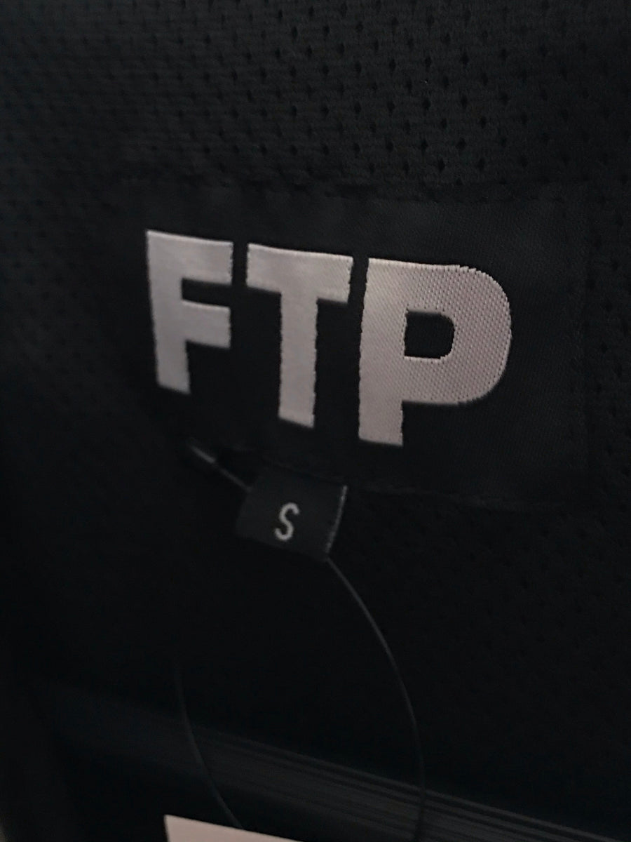 FTP//Windbreaker/S/BLK/Nylon/Plain