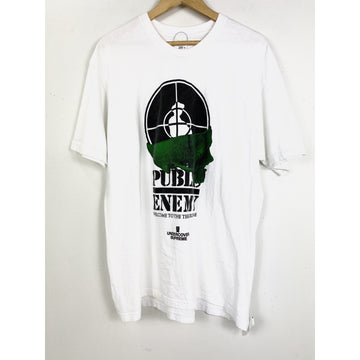 Supreme/XL/T-Shirt/WHT/Cotton/Graphic