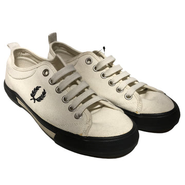FRED PERRY//Low-Sneakers/9/WHT/Cotton/Plain