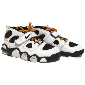 NIKE/US13 CHARLES BARKLEY/Low-Sneakers/WHT/Leather/Plain