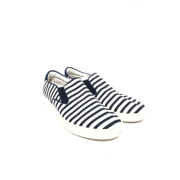 DOLCE&GABBANA/8/Low-Sneakers/NVY/Cotton/Stripe