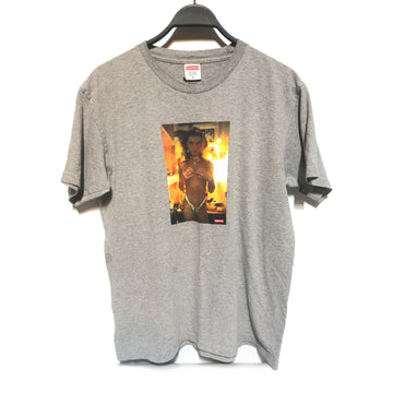 Supreme/SK8/T-Shirt/./GRY/Cotton/Graphic