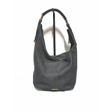 GUCCI/TOP HANDLE/Hand Bag/BLK/Cotton/Plain