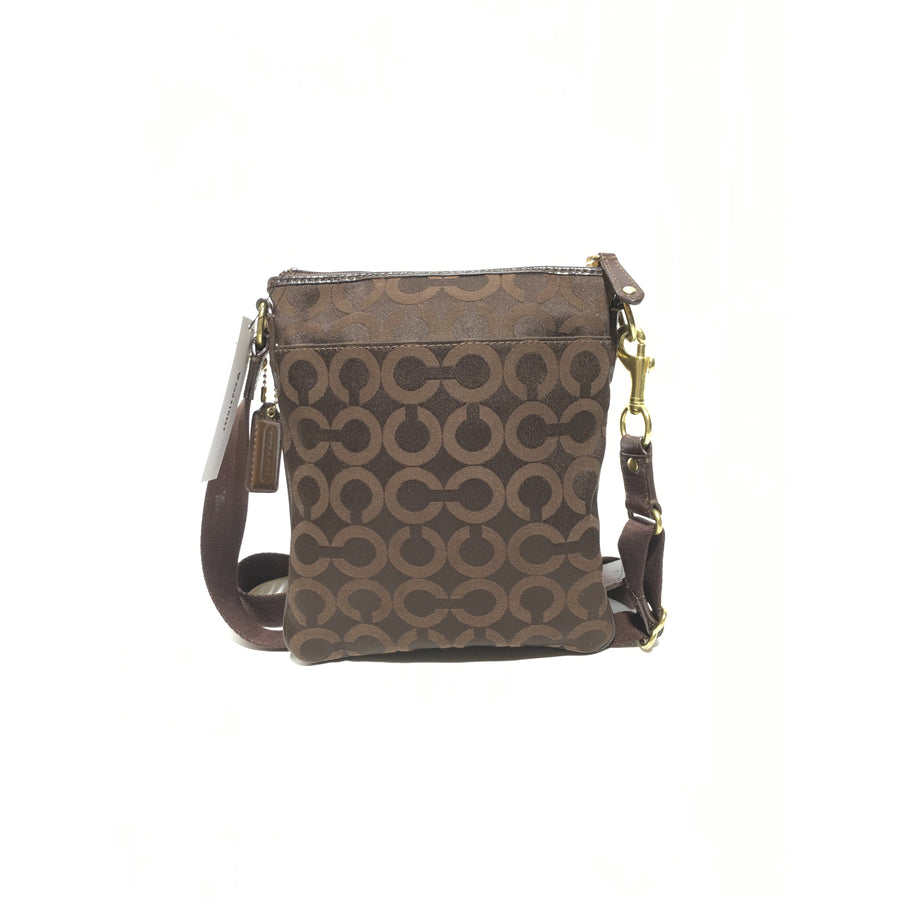 COACH//Cross Body Bag/BRW/Others/Monogram