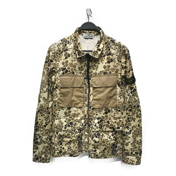STONE ISLAND//Jacket/L/BRW/Nylon/All Over Print