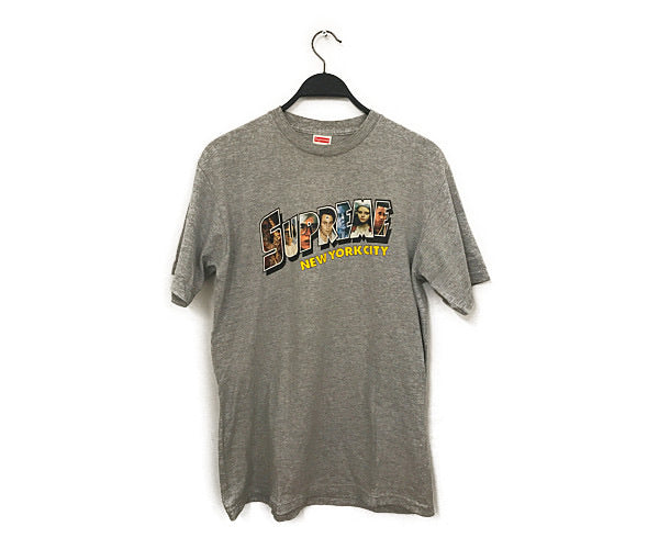 #Supreme/T-Shirt/L/Cotton/GRY