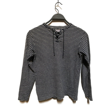 KAPITAL//LS Blouse/XS/BLU/Cotton/Stripe