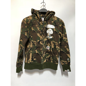 AAPE BY A BATHING APE/S/Hoodie/MLT/Cotton/All Over Print