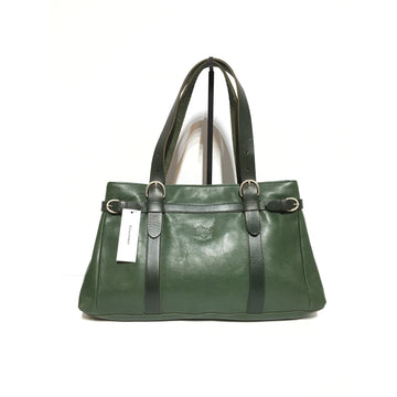 IL BISONTE//Bag/GRN/Leather/Plain