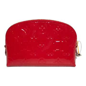 LOUIS VUITTON/MAKEUP PATENT RED/Bag/./RED/Others/Monogram