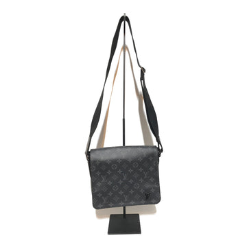 LOUIS VUITTON/MONOGRAM /Cross Body Bag//BLK/Leather/Monogram