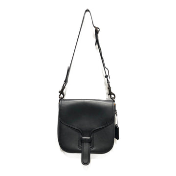 COACH/X RODARTE/Cross Body Bag//BLK/Leather/Plain