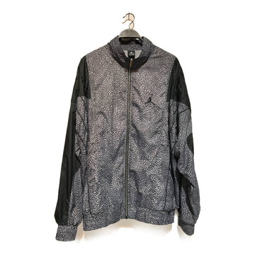 Jordan/CEMENT /Windbreaker/3XL/GRY/Nylon/Animal Pattern