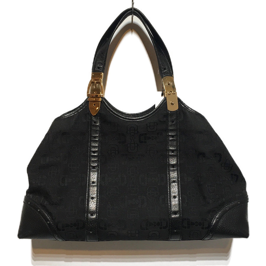 GUCCI/BLACK CANVAS /Bag/./BLK/Others/All Over Print