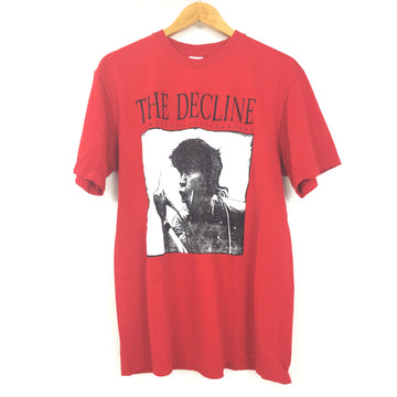 Supreme/M/T-Shirt/RED/Cotton/Graphic