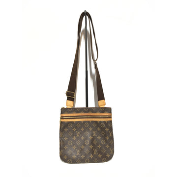 LOUIS VUITTON/MI0076/Cross Body Bag/BRW/Leather/Monogram