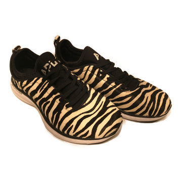 //APL/Low-Sneakers/7.5/MLT/Cotton/Animal Pattern