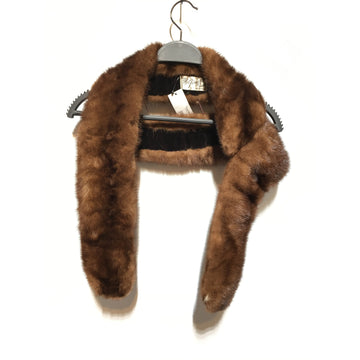 Vintage//Accessories/BRW/Fur/Plain