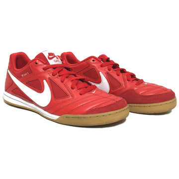 NIKE SB/10/Low-Sneakers/RED/Leather/Plain