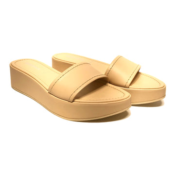 JIL SANDER//Sandals/EU37/BEG/Leather/Plain